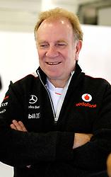 Motorsports: FIA Formula One World Championship 2012, Grand Prix of Great Britain, .Neil Oatley Chefdesigner McLaren,