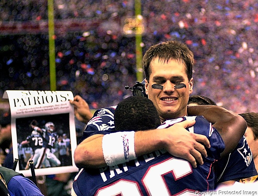 Tom Brady first Super Bowl win in New Orleans.