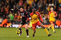 FOOTBALL - FRENCH CHAMPIONSHIP 2010/2011 - L1 - RC LENS v TOULOUSE FC  - 12/03/2011 - PHOTO JULIEN CROSNIER / DPPI - SANTANDER (TFC)
