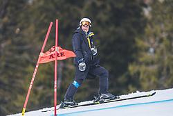 14.02.2019, Aare, SWE, FIS Weltmeisterschaften Ski Alpin, Riesenslalom, Damen, 1. Lauf, im Bild Atle Skaardal (FIS Chef Renndirektor Weltcup Ski Alpin Damen) // Atle Skaardal Chief Race Director World Cup Ladies of FIS in action during her 1st run of ladie's Giant Slalom of FIS Ski World Championships 2019. Aare, Sweden on 2019/02/14. EXPA Pictures © 2019, PhotoCredit: EXPA/ Dominik Angerer