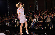 Valentino couture fashion show,  rue Bonaparte, Paris, 21 January 2004. © Copyright Photograph by Dafydd Jones 66 Stockwell Park Rd. London SW9 0DA Tel 020 7733 0108 www.dafjones.com