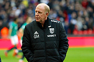 West Bromwich Albion manager Gary Megson during the Premier League match between Tottenham Hotspur and West Bromwich Albion at Wembley Stadium, London, England on 25 November 2017. Photo by Andy Walter.