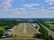 Nederland, Brabant,  gemeente Bosschenhoofd, 14-05-2020; Zicht op Vliegveld Seppe (Breda International Airport).<br /> View of Seppe Airport (Breda International Airport).<br /> luchtfoto (toeslag op standard tarieven);<br /> aerial photo (additional fee required);<br /> copyright foto/photo Siebe Swart