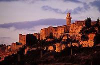 Italie - Toscane - Province de Sienne - Village de Montepulciano