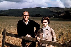 File photo dated 01/09/72 of Queen Elizabeth II and the Duke of Edinburgh at Balmoral to celebrate their Silver Wedding anniversary. Balmoral in the Highlands, one of the royals' favourite places, held many memories for the Duke of Edinburgh. The Queen was once said to never be happier than when she was at Balmoral, Philip, too, loved the outdoor life that was synonymous with their annual break, which stretched from the end of July into October. Issue date: Friday April 4, 2021.