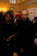Mr. and Mrs. Paul Boateng. The Asian Business Awards 2005. Hilton. London. 7 April 2005. ONE TIME USE ONLY - DO NOT ARCHIVE  © Copyright Photograph by Dafydd Jones 66 Stockwell Park Rd. London SW9 0DA Tel 020 7733 0108 www.dafjones.com