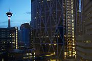 Calgary, Canada, downtown architecture, needle restaurant, Calgary Tower, Sky360