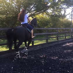"""Katie Price releases a photo on Instagram with the following caption: """"Amongst my anxiety lately, I love that I have the confidence to jump my horse Duj without being judged \u2764\ufe0f\u2764\ufe0f\u2764\ufe0f"""". Photo Credit: Instagram *** No USA Distribution *** For Editorial Use Only *** Not to be Published in Books or Photo Books ***  Please note: Fees charged by the agency are for the agency's services only, and do not, nor are they intended to, convey to the user any ownership of Copyright or License in the material. The agency does not claim any ownership including but not limited to Copyright or License in the attached material. By publishing this material you expressly agree to indemnify and to hold the agency and its directors, shareholders and employees harmless from any loss, claims, damages, demands, expenses (including legal fees), or any causes of action or allegation against the agency arising out of or connected in any way with publication of the material."""