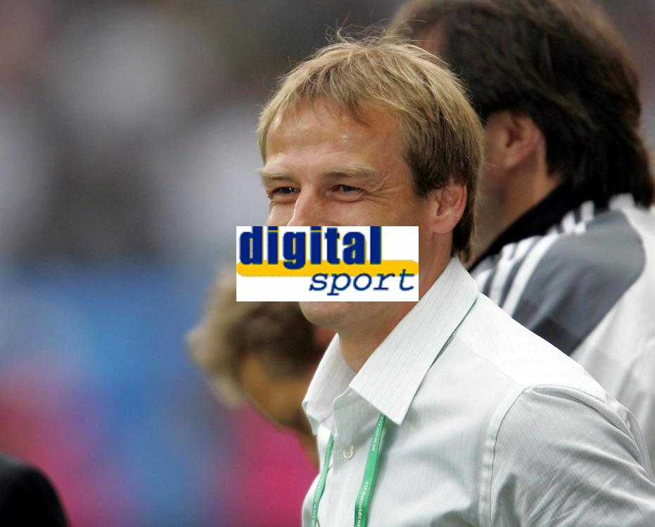 Fotball, 15. juni 2005,Confederations Cup , Tyskland - Australia Juergen Klinsmann Bundestrainer Tyskland