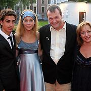 NLD/Utrecht/20080928 - Premiere Radeloos, Marius Gottlieb en Marloes van der Wel, Dave Schram en ........