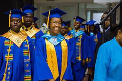 Valedictorian Deja Todman.  Charlotte Amalie High School 85th Annual Commencement Program at UVI Sports and Fitness Center.  14 June 2015.  © Aisha-Zakiya Boyd