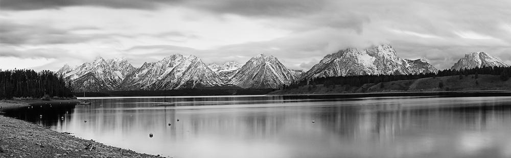 Jackson Lake And The Teton Range