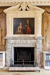 Wentworth Woodhouse Painted Drawing Room<br /> <br /> 26 June 2013<br /> Image © Paul David Drabble<br /> www.pauldaviddrabble.co.uk
