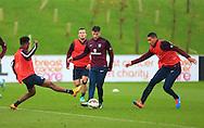 Adam Lallana of England - England Training & Press Conference - UEFA Euro 2016 Qualifying - St George's Park - Burton-upon-Trent - 11/11/2014 Pic Philip Oldham/Sportimage