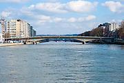 Pont des Arches, over the Meuse River, Liège, Belgium
