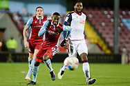 Scunthorpe United Abo Eisa (11) attacking during the EFL Sky Bet League 2 match between Scunthorpe United and Bolton Wanderers at the Sands Venue Stadium, Scunthorpe, England on 24 November 2020.