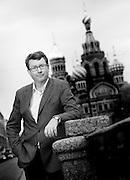 Lars Renström, CEO Alfa Laval, portrayed in St Petersburg, Russia.<br /> Photo Ola Torkelsson ©