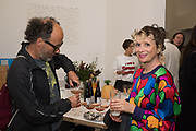 paul noble, georgina starr, Miss Sue Webster hosts the launch of her book <br /> 'I Was a Teenage Banshee' The Mole House , Dalston. 17 October 2019