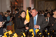MERCELINE TRY; SIMON HENDERSON, The Veuve Clicquot Business Woman Award. Claridge's Ballroom. London W1. 11 May 2015.