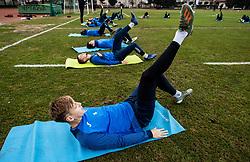Rok Kidric of Bravo during first practice session of NK Bravo before the spring season of Prva liga Telekom Slovenije 2020/21, on January 5, 2021 in Sports park ZAK, Ljubljana Slovenia. Photo by Vid Ponikvar / Sportida