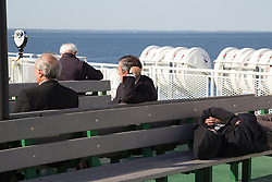 passengers on a Ferry Boat