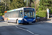 Stagecoach ex-citi single decker service bus, Exeter, Devon, England, UK