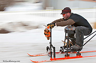 Barstool Racing at the annual Cabin Fever Days in Martin City Montana