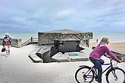 Frankrijk, Lion sur mer, 11-5-2013 Serie over de invasie door de geallieerden op de stranden van Normandie, 6 juni 1944. Bevrijding, herdenking, 2e, tweede wereldoorlog, oorlog, atlantik wall, dday, d-day, d day Foto: Flip Franssen