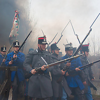 Battle of Tapiobicske re-enacted 2013
