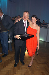 WOLFF HEINRICHSDORFF CEO Montblanc International and SADIE FROST at a party to celebrate the centenary of Montblanc held at Lindley Hall, Elverton Street, London SW1 on 9th March 2006.<br /><br />NON EXCLUSIVE - WORLD RIGHTS