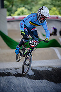 #383 (VERBINNEN Elias) BEL at Round 5 of the 2019 UCI BMX Supercross World Cup in Saint-Quentin-En-Yvelines, France