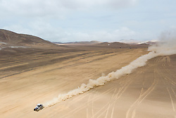 Francisco Chaleco Lopez (CHL) races during stage 04 of Rally Dakar 2019 from Arequipa to o Tacna, Peru on January 10, 2019 // Marcelo Maragni/Red Bull Content Pool // AP-1Y39E6JJN1W11 // Usage for editorial use only // Please go to www.redbullcontentpool.com for further information. //