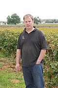 Carel Voorhuis, winemaker. Clos des Langres, Domaine d'Ardhuy, Corgoloin, Cote de Nuits, d'Or, Burgundy, France