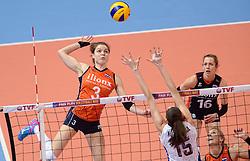 09-01-2016 TUR: European Olympic Qualification Tournament Rusland - Nederland, Ankara<br /> De strijd om Rio of Japan / Yvon Belien #3, Debby Stam-Pilon #16