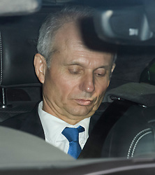 © Licensed to London News Pictures. 11/04/2019. London, UK. DAVID LIDINGTON is seen leaving Parliament following a statement by Prime Minster Theresa May. The British PM was last night granted an extension to the date the UK will leave the EU, until October 31st of this year. Photo credit: Ben Cawthra/LNP