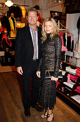 SOREN & FRU THROLSTRUP at Polo Ralph Lauren's Pink Pony Party to launch it's Pink Pony Collection in aid of Cancer Research UK, held at their Fulham Road Store, London on 13th October 2004.<br /><br /> UKNON EXCLUSIVE - WORLD RIGHTS