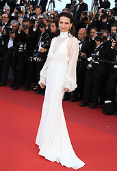 May 20, 2017 - Cannes, France - JULIETTE BINOCHE Okja Red Carpet Arrivals - The 70th Annual Cannes Film Festival.CANNES, FRANCE - MAY 19: attends the 'Okja' screening during the 70th annual Cannes Film Festival at Palais des Festivals on May 19, 2017 in Cannes (Credit Image: © Visual via ZUMA Press)