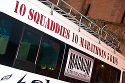 10 Soldiers, 10 Marathons, 5 Days to raise funds for St Dunstans..1 November 2010 .Images © Paul David Drabble