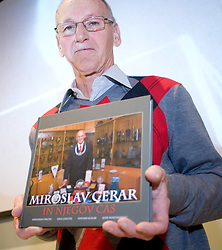 "Miro Cerar at presentation of a new book of one of the best Slovenian gymnast Miro Cerar named ""Miroslav Cerar in njegov cas - Miroslav Cerar and his time"" at his 70 years anniversary, on October 30, 2009, in Hotel Mons, Ljubljana, Slovenia.   (Photo by Vid Ponikvar / Sportida)"