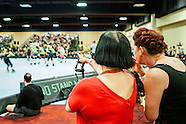 2013 BAD Girls All-Stars vs Montreal Roller Derby