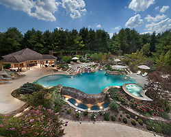 38263 Nixon Road, Purcellville, VA Aquatech Pool and patio and gardens swimming pool Swimming pool Deck patio Verandah Porch Pool pool house