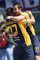 esultanza gol Juanito Gomez Verona Goal celebration <br /> Verona 10-05-2015 Stadio Bentegodi Football Calcio Serie A 2014/2015 Chievo Verona - Hellas Verona foto Daniele Buffa/Image Sport/Insidefoto