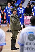 DESCRIZIONE : Campionato 2014/15 Serie A Beko Dinamo Banco di Sardegna Sassari - Acqua Vitasnella Cantu'<br /> GIOCATORE : Brigata Sassari<br /> CATEGORIA : Before Pregame<br /> SQUADRA : Dinamo Banco di Sardegna Sassari<br /> EVENTO : LegaBasket Serie A Beko 2014/2015<br /> GARA : Dinamo Banco di Sardegna Sassari - Acqua Vitasnella Cantu'<br /> DATA : 28/02/2015<br /> SPORT : Pallacanestro <br /> AUTORE : Agenzia Ciamillo-Castoria/L.Canu<br /> Galleria : LegaBasket Serie A Beko 2014/2015