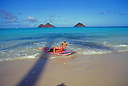 Lanikai Beach, Kailua, Oahu, Hawaii