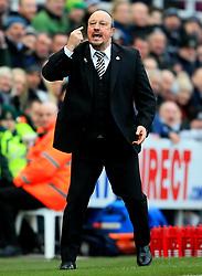 Newcastle United manager Rafa Benitez gestures - Mandatory by-line: Matt McNulty/JMP - 11/02/2018 - FOOTBALL - St James Park - Newcastle upon Tyne, England - Newcastle United v Manchester United - Premier League
