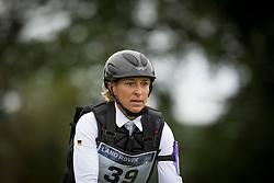 Ingrid Klimke, (GER), FRH Escada JS - Eventing Cross Country test- Alltech FEI World Equestrian Games™ 2014 - Normandy, France.<br /> © Hippo Foto Team - Dirk Caremans<br /> 30/08/14