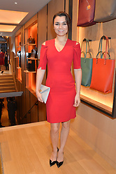 SAMANTHA BARKS at the opening party for Moynat's new Maison de Vente in Mayfair at 112 Mount Street, London W1 on 12th March 2014.