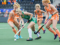 AMSTELVEEN -  tijdens de dames hockeywedstrijd , Nederland-Ierland (4-0)  bij het EK hockey. Euro Hockey 2021.   COPYRIGHT KOEN SUYK