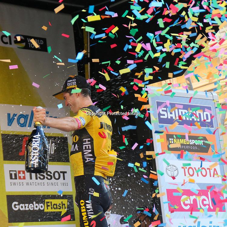 08-08-2020: Wielrennen: Milaan-San Remo: San Remo <br />Wout van Aert wins Milaan-San Remo
