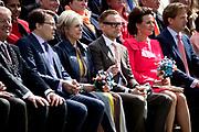 Koningsdag 2017 in Tilburg / Kingsday 2017 in Tilburg<br /> <br /> Op de foto / On the photo: Prins Constantijn en prinses Laurentien / Prince Constantijn and Princess Laurentien - Prins Bernhard en prinses Annette / Prince Bernhard en Princess Annette